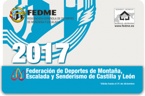 licencia fedme 2017