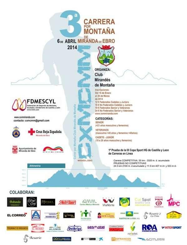 El vencedor junior del Trail Ciudad de Palencia. /FDMESCYL