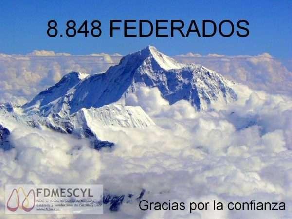 Fdmescyl alcanza los 8.848 federados. /FDMESCYL