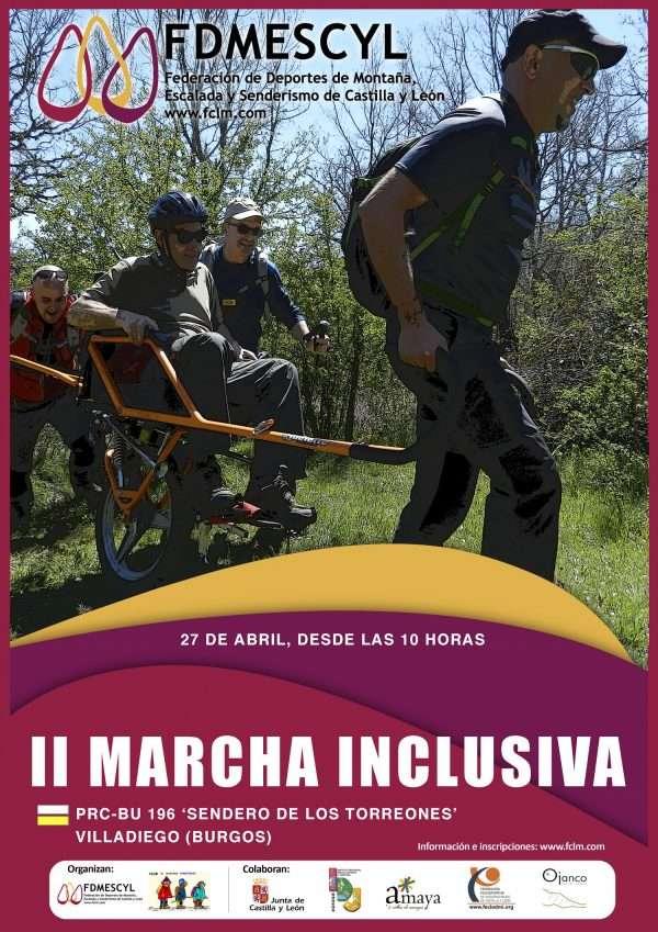 II Marcha Inclusiva de Montaña. /FDMESCYL