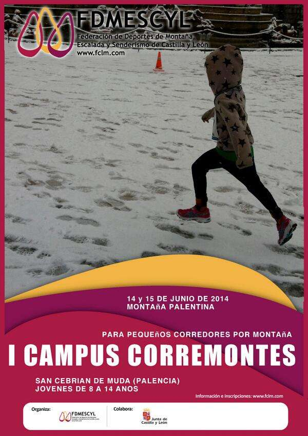 Cartel del I Campus Corremontes. /FDMESCYL