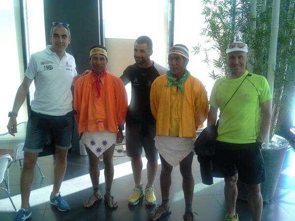 Selección Fdmescyl en el Campeonato de España de Ultratrail. /MOXIGENO