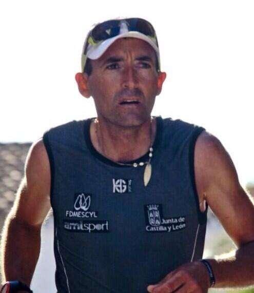 Miguel Heras, en el Campeonato de España de Ultratrail. /FDMESCYL