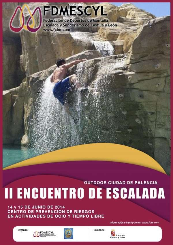II Encuentro de Escalada Ciudad de Palencia. /FDMESCYL