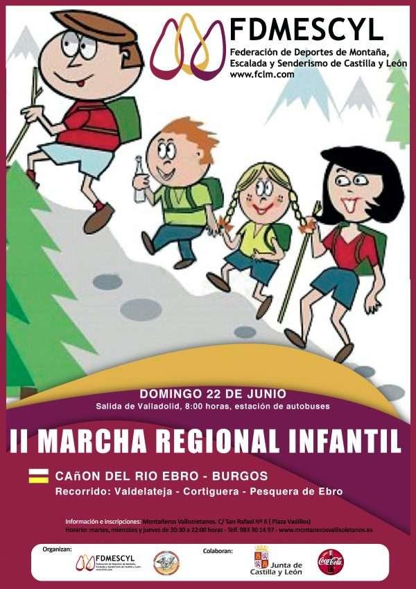 II Marcha Regional Infantil. /FDMESCYL