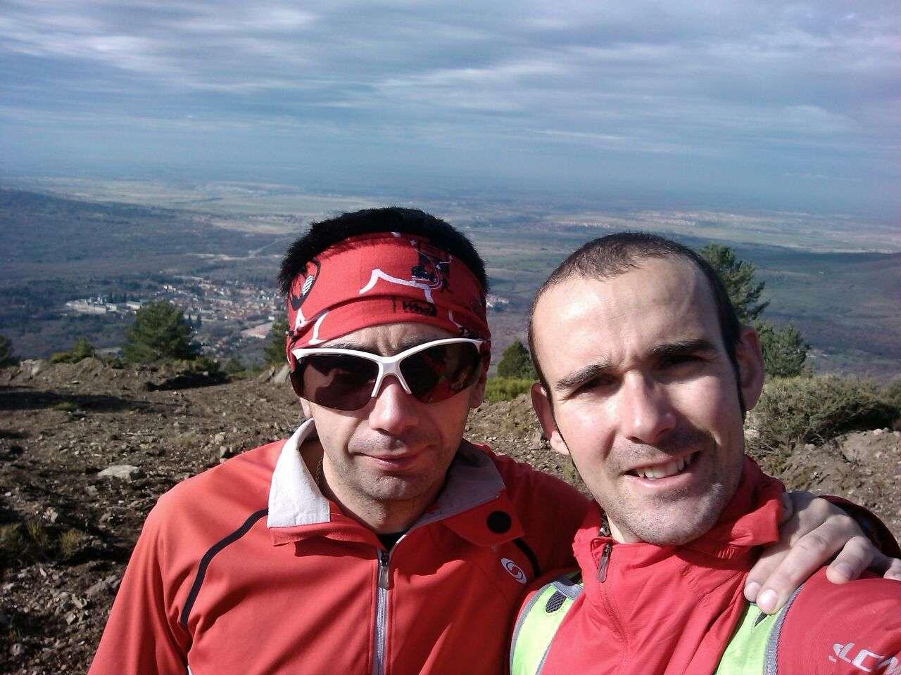 Óscar Baeza y David López Castán. /DAVIDLÓPEZCASTÁN