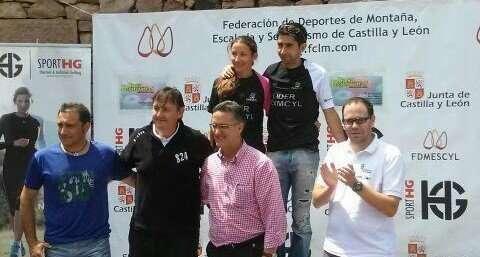 Líderes de la Copa Sport HG de Carreras Verticales. /FDMESCYL