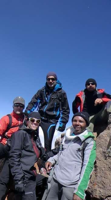 Expedición de la Agrupación Montañera Zamorana al Monte Kenia. /AMZ