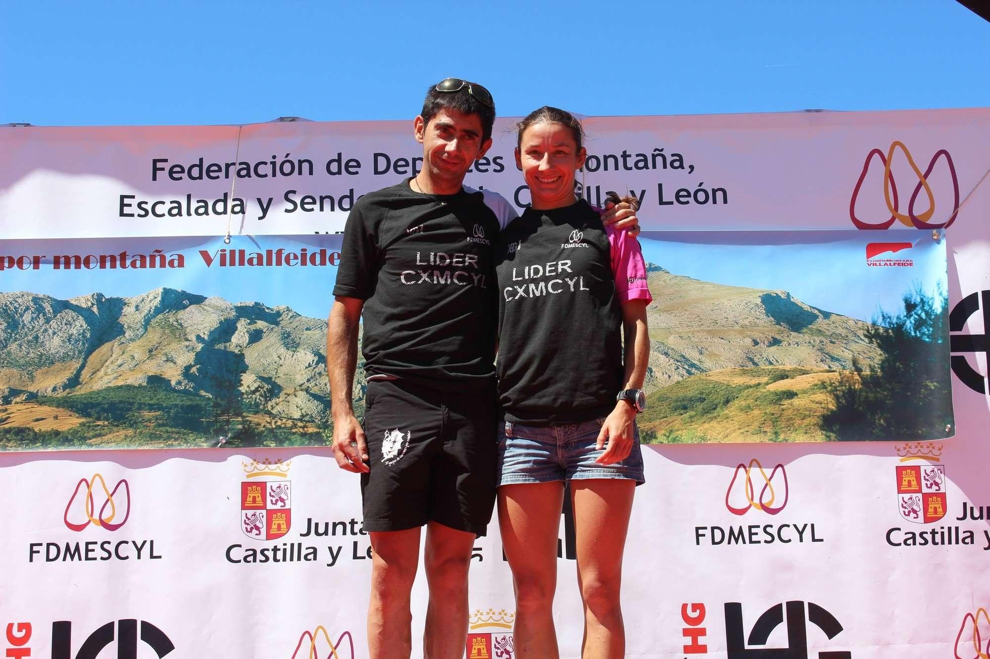 Salida de la Carrera por Montaña Villalfeide-Polvoreda en 2013. /CDM VILLALFEIDE