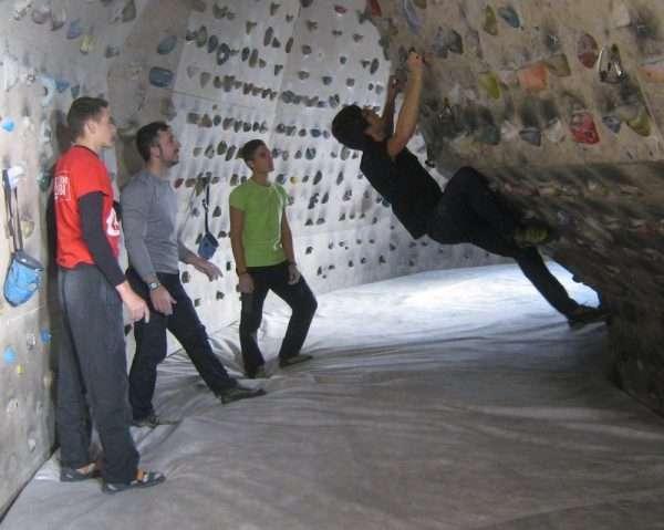 Imagen del I Encuentro de Jóvenes Escaladores de 2013. /GUILLERMO FLOR