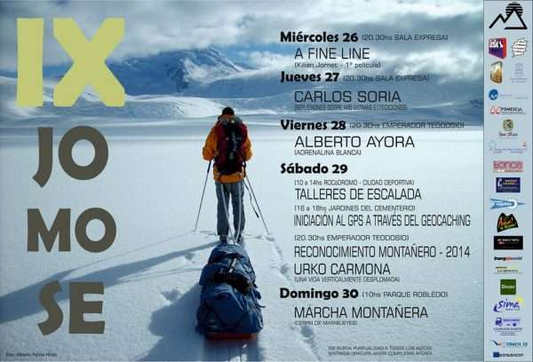 Cartel de las IX Jornadas Montaña 'JoMoSe'. / FDMESCYL