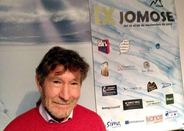 Carlos Soria en las JoMoSe 2014. / FDMESCYL