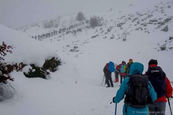 Ascensión al pico Felispardi. /VICENTE GARCÍA