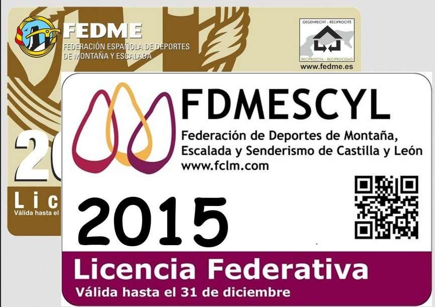 Licencia Fdmescyl 2015. / FDMESCYL
