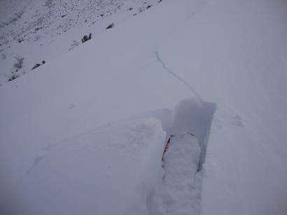 Ejemplo de una avalancha. /FDMESCYL
