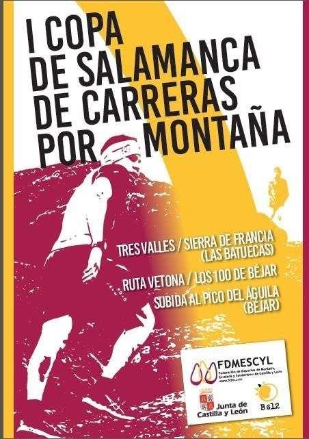 Cartel de la I Copa de Salamanca de Carreras por Montaña. /FDMESCYL
