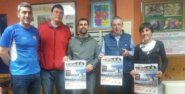 Presentación de la cuarta edición de la Carrera por Montaña de Miranda de Ebro. /FDMESCYL