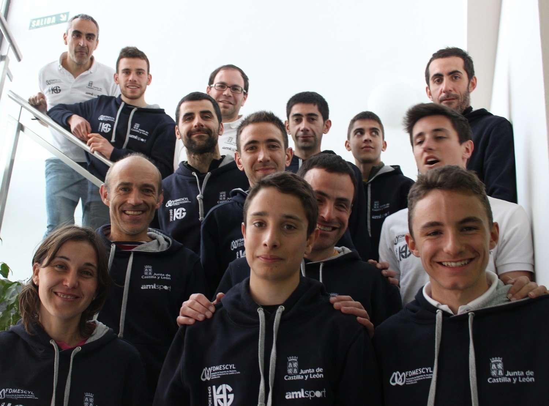 Equipo de Castilla y León, subcampeón nacional en 2014. /FDMESCYL