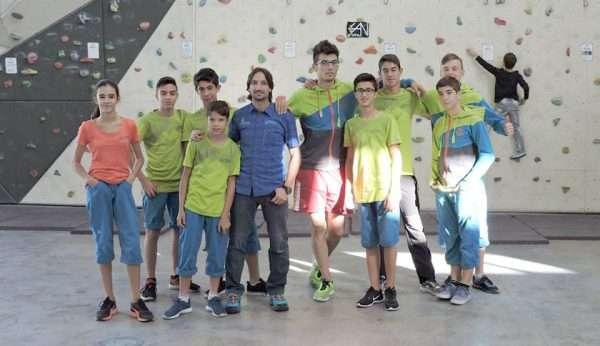 Selección de escalada juvenil. /FDMESCYL