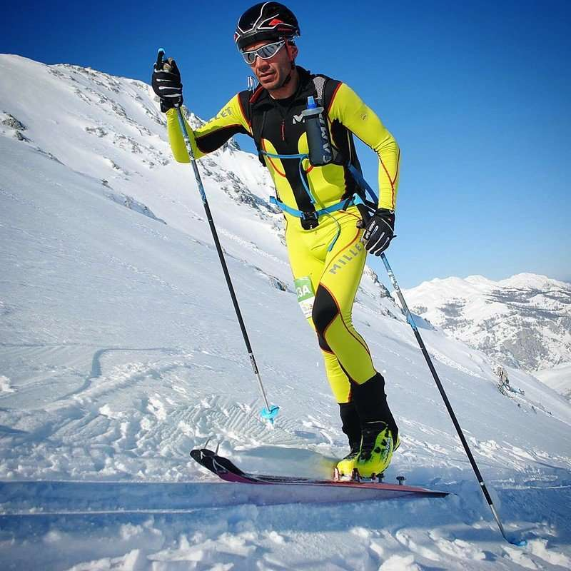 Selección de esquí de montaña de Castilla y León. /FDMESCYL