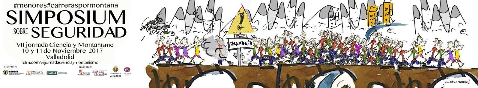 baner simposium sobre seguridad ciencia y montañismo