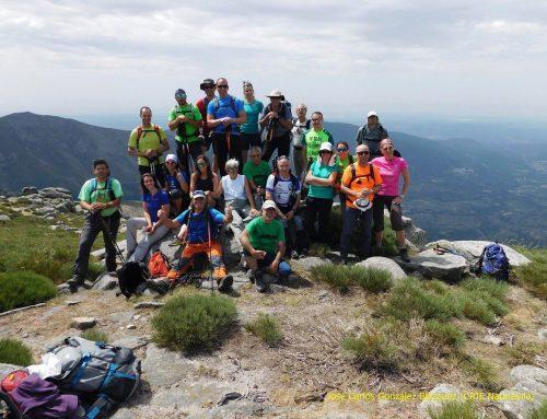 La Sierra de Gredos acoge la quinta etapa del Circuito de Senderismo