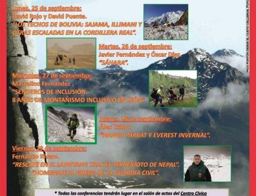 Del 25 al 29 de septiembre León acoge su Semana de la Montaña