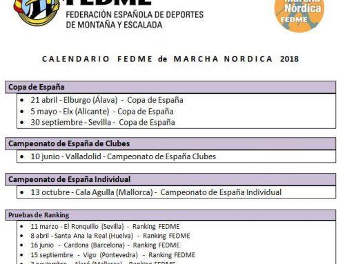 Valladolid, designada como sede del Campeonato de España de clubes de marcha nórdica