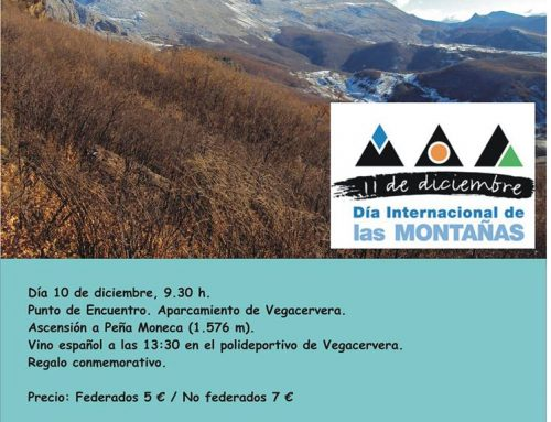 Una ruta por Vegacervera para celebrar el día de las montañas