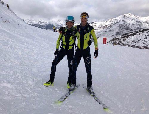 Manuel Merillas y Javier Gurpegui destacan en el Campeonato de España de Skimo