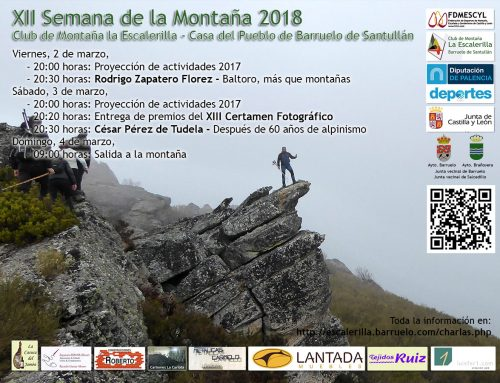 "El Club La Escalerilla celebra la ""XII Semana de la Montaña"""