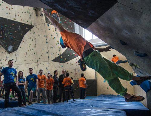 La Demolition Climb reúne a 160 escaladores en Ponferrada