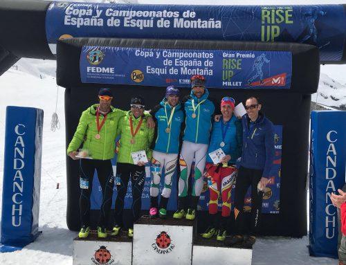 Oriol Barrera y Sergio Cabrero, bronce veterano en el Campeonato de España por equipos