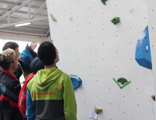 Ocho escaladores de Castilla y León acuden al Nacional de Bloque de Barcelona