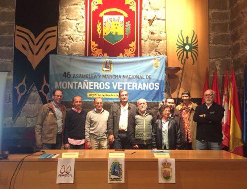 Arenas de San Pedro acogerá la 46ª Asamblea y Marcha Nacional de Montañeros Veteranos
