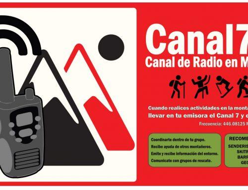 Canal 77 PMR: seguridad en la montaña