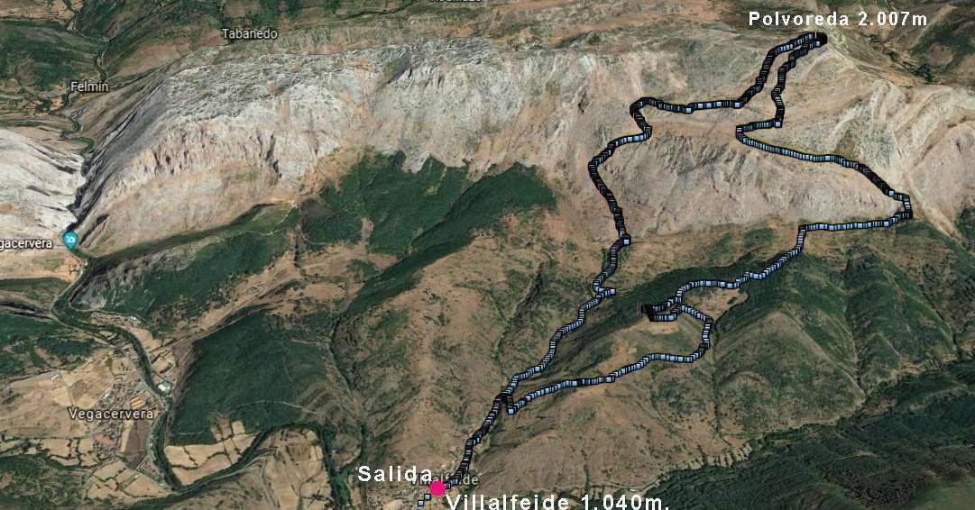 Andarines al Polvoreda: Una ruta por el Valle del Marqués