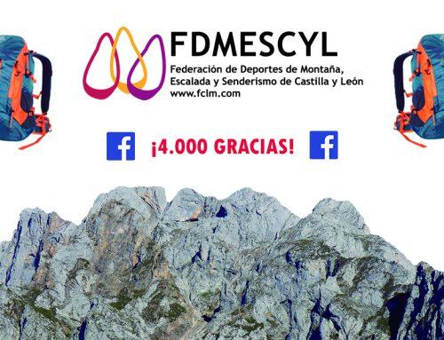 Ya somos más de 4.000 montañeros en Facebook