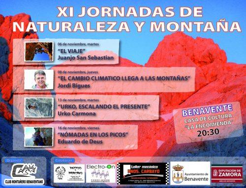 XI Jornadas de Naturaleza y Montaña de Benavente