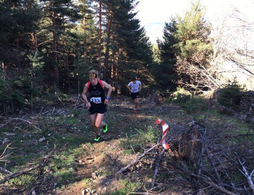 Concentración de jóvenes corredores por montaña en Cervera de Pisuerga