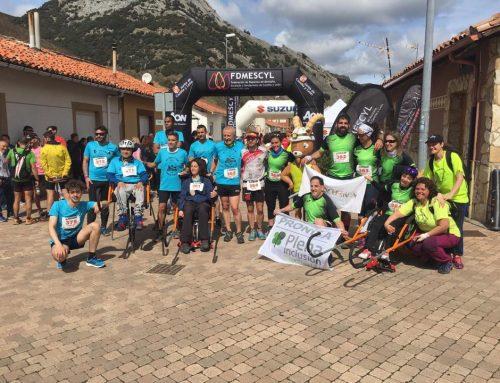 Nosolocuerda, ganador del Campeonato de Castilla y León de sillas Joëlette