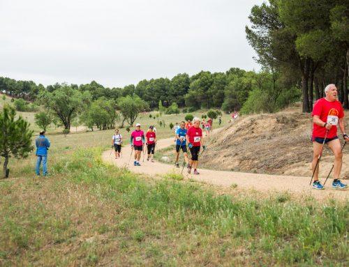 El Campeonato de Castilla y León de Marcha Nórdica se decide en Valladolid