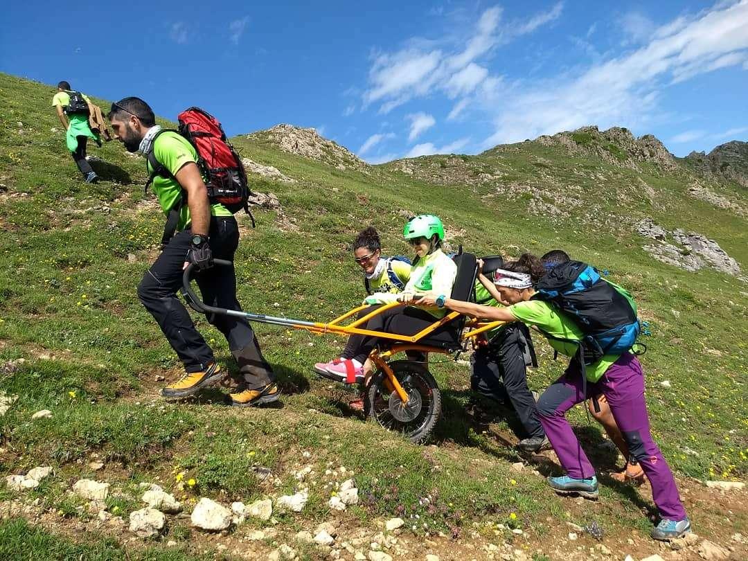 Curso de Piloto Joëlette y IV Ruta Inclusiva Montañas de Crémenes