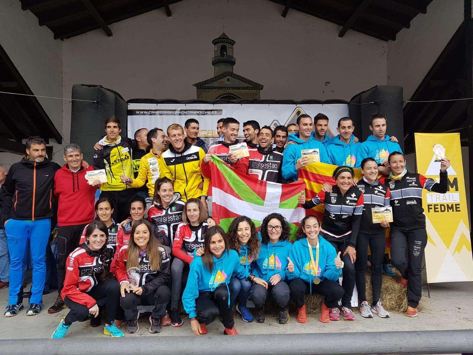 La AM Zamorana, bronce en el Campeonato de España de Kilómetro Vertical