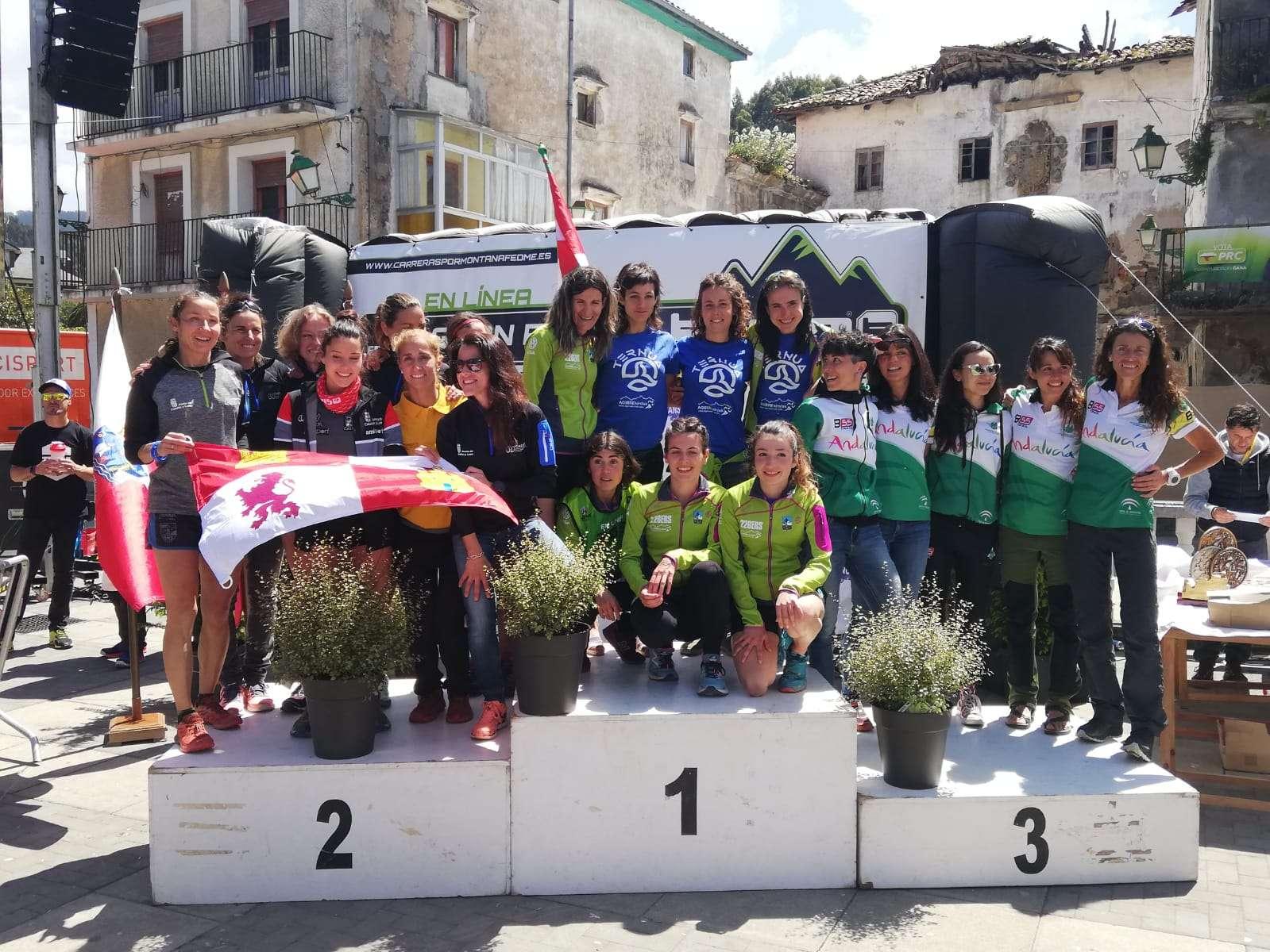 Castilla y León, presente y futuro en el Campeonato de España de Carreras por Montaña