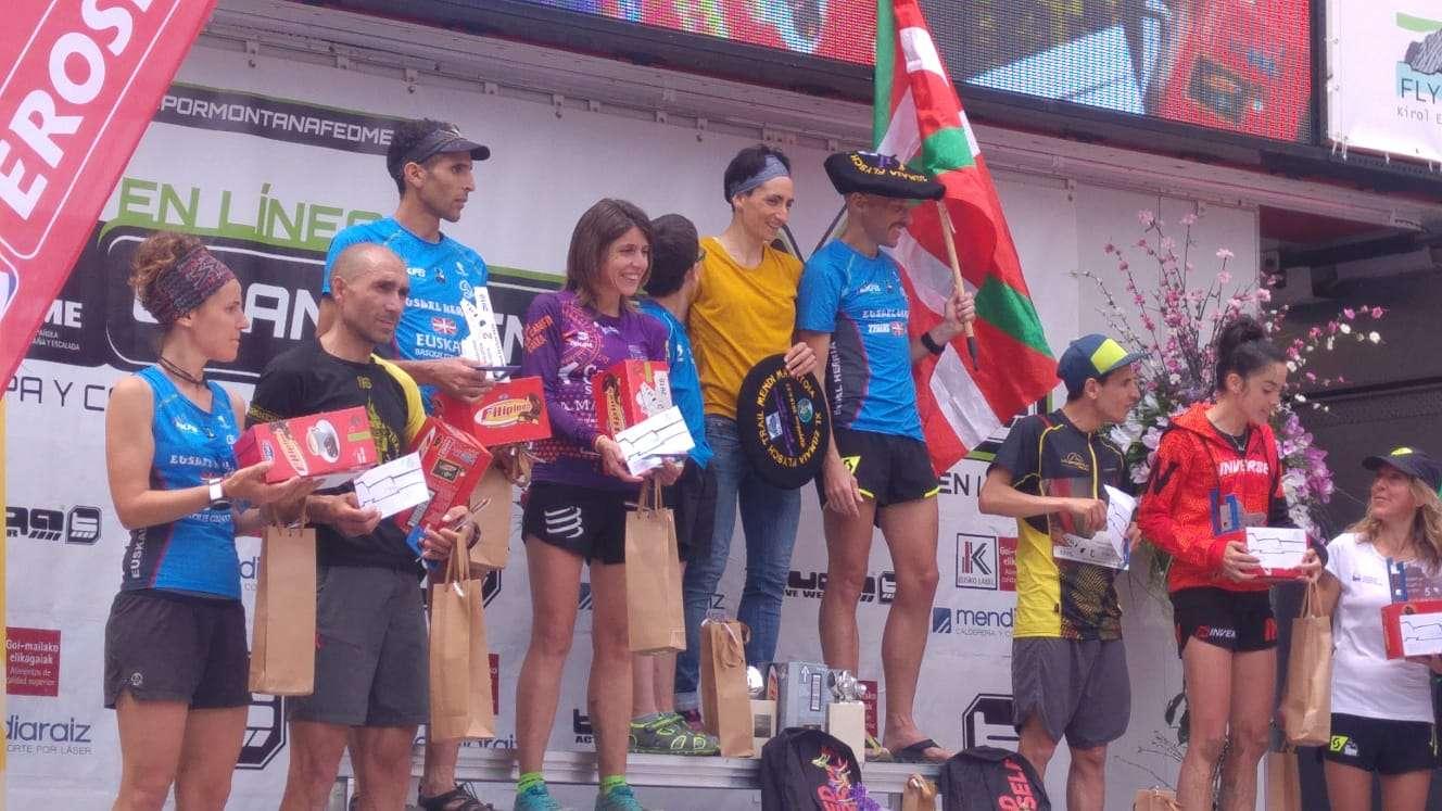 Santi Mezquita, medalla de bronce en la Copa de España de Carreras por Montaña