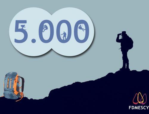 La Fdmescyl conecta a 5.000 montañeros en Facebook