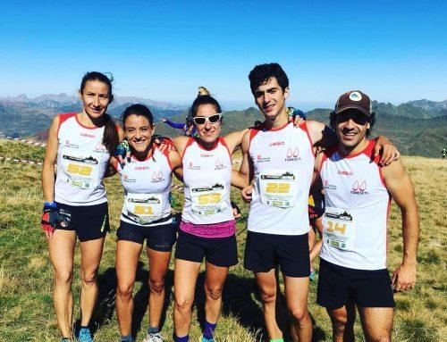 Cuatro podios en el final de la Copa de España de Carreras Verticales